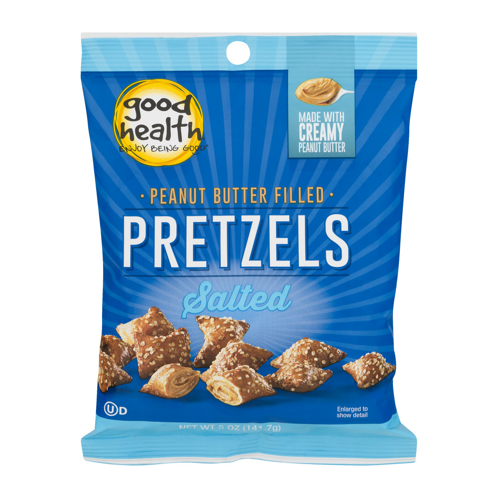 Good Health Salted Pretzels Peanut Butter Filled, 5.0 OZ