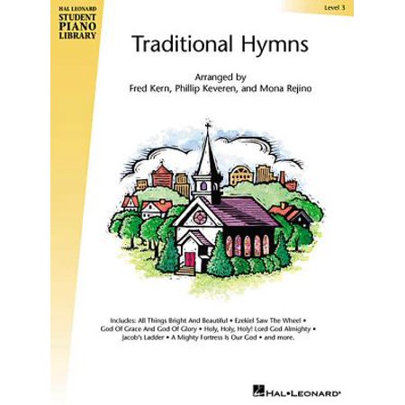 Traditional Hymns Book - Traditional Hymns Level 3 : Book Only - Hal Leonard Student Piano Library