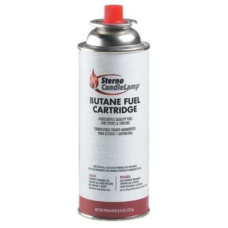 STERNO 50162 Fuel Cartridge,PK12