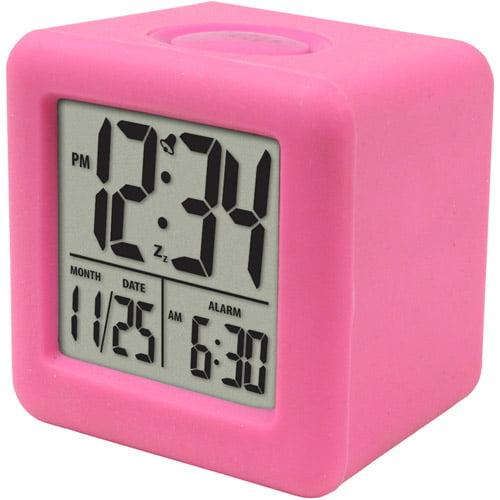 Equity by La Crosse Cube LCD Alarm Clock