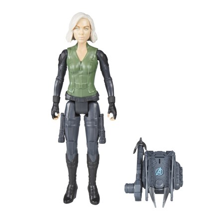 Marvel Avengers: Infinity War Titan Hero Power FX Black Widow - Black Widow From Avengers Costume