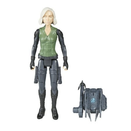 Marvel Avengers: Infinity War Titan Hero Power FX Black - Black Widow From The Avengers