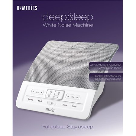 homedics deep sleep white noise machine model hds 1000. Black Bedroom Furniture Sets. Home Design Ideas