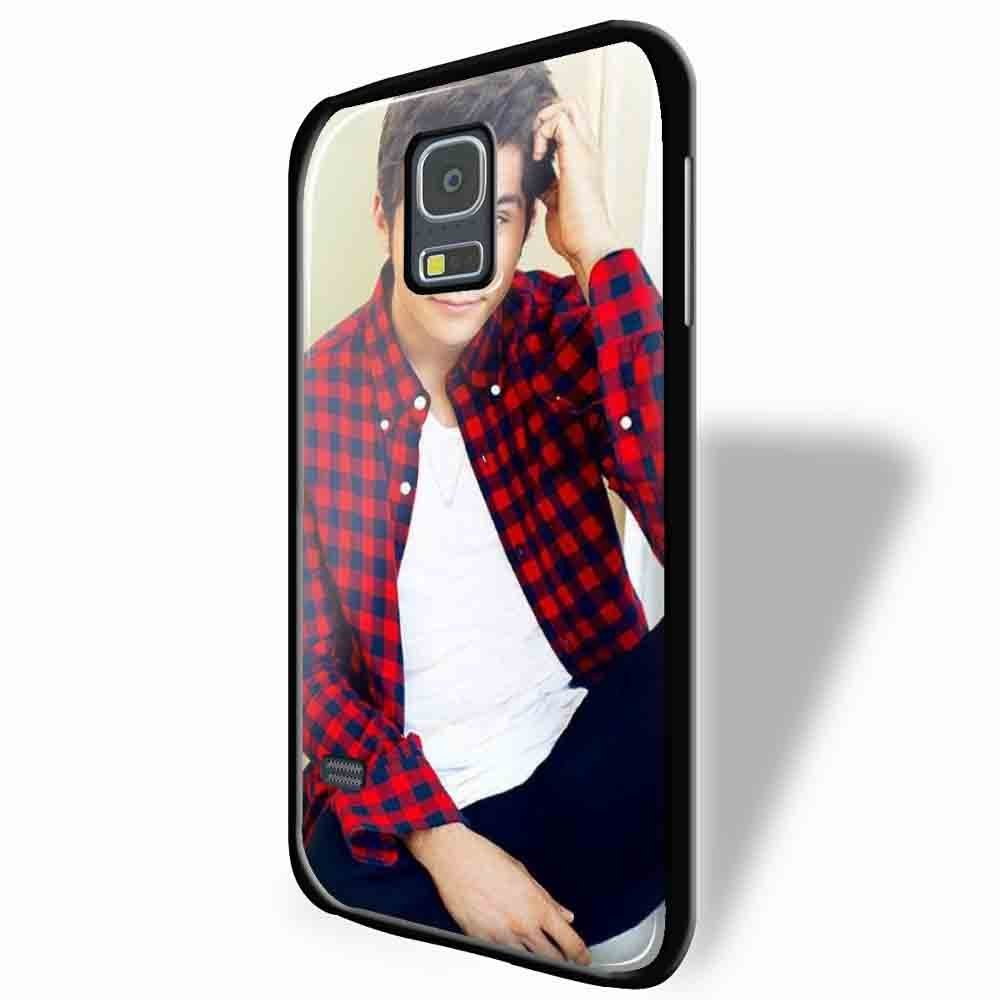 Ganma Dylan Obrien Georgeus Face Photo Case For iPhone Case (Case For iPhone 5/5s White)