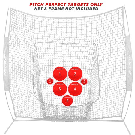 PowerNet Pitch Perfect Training Targets (Target Discs Only) for Baseball Softball