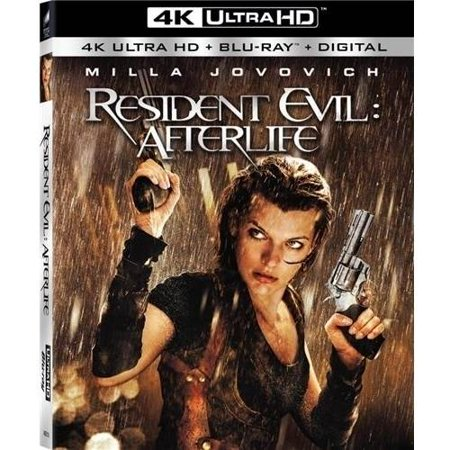 Resident Evil  Afterlife  4K Ultra Hd   Blu Ray   Digital Hd   Widescreen