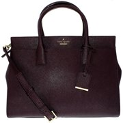 Kate Spade Women's Cameron Street Candace Leather Top-Handle Bag Satchel - Mahogany