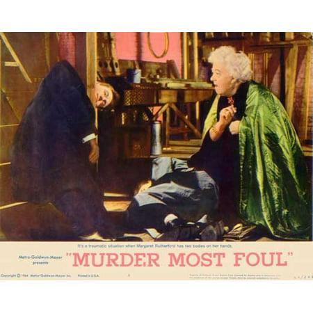 Murder Most Foul POSTER Movie B Mini Promo