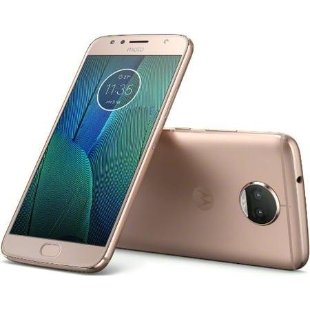 Motorola Moto G5S Plus 64GB Unlocked Smartphone, Blush Gold