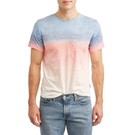 Current Fashion (Ocean Current Men's Sunset Stripe T-Shirt )