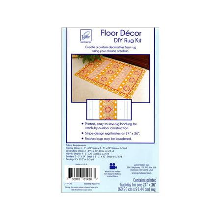 June Tailor Floor Decor Diy Rug Back Stripes 24X36