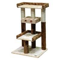 Go Pet Club Busy Box 34.5 in. Condo Cat Tree
