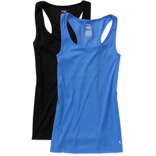 Danskin Now Women's Poly Rib Tanks, 2-Pack