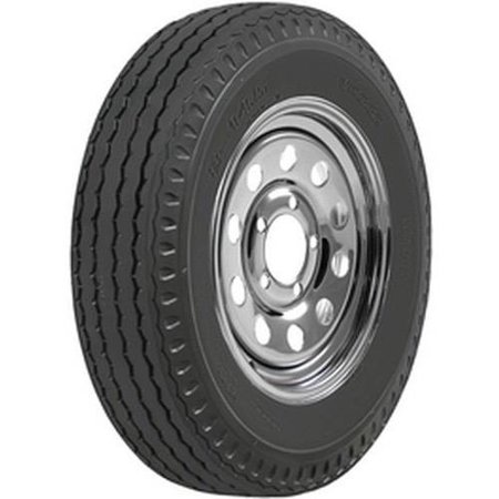 Power King ST205/75D14  Solid Trac Premium Trailer Tires (Power Trailer)