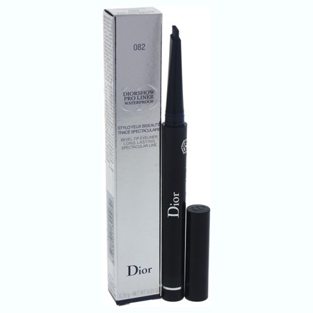 Diorshow Pro Liner Waterproof Bevel-Tip Eyeliner - # 082 Pro Anthracite by Christian Dior for Women - 0.01 oz (Christian One Liner)