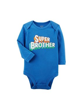 Product Image Carter s Baby Boys  Long Sleeve Super Brother Bodysuit 199a6a51b