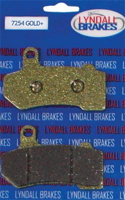 Z Plus Brake Pads Front Lyndall Racing Brakes 7254-Z