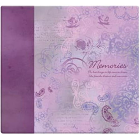 - Inspirations Post Bound Paper Scrapbook, 12