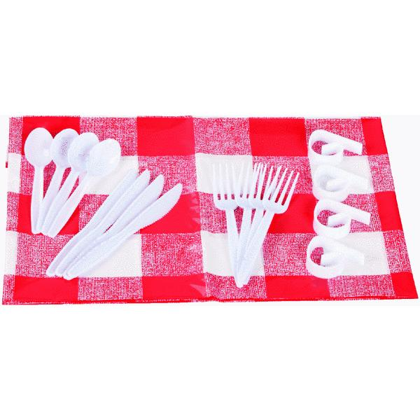 GrillPro Tablecloth And Clips