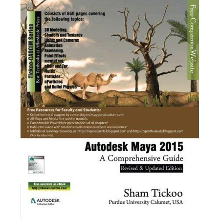 Autodesk Maya 2015  A Comprehensive Guide