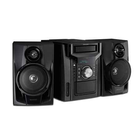 Sharp CD-BH950 240W 5-Disc Mini Shelf Speaker System with
