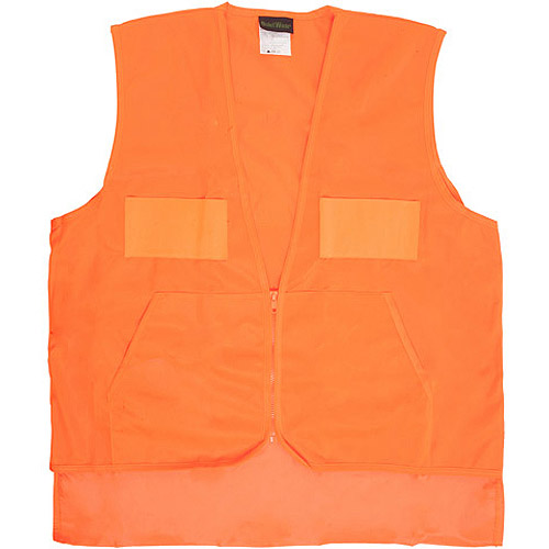 QuietWear Hunting Vest with Game Bag, Blaze