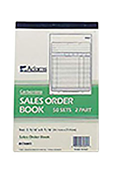 """Carbonless Sales Purchase Order Book 5 9 16""""W x 8 7 16""""H by SSWBasics"""