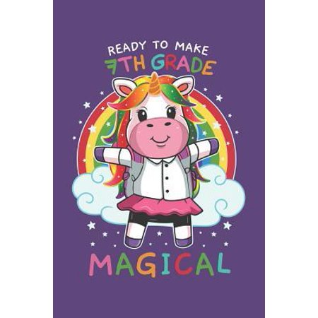 Ready To Make 7th Grade Magical: Week to Page Academic Diary Planner July 2019 - June 2020 (Let's Make A Deal Halloween 2019)