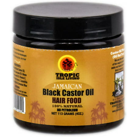 Tropic Isle Living Jamaican Black Castor Oil Hair Food, 4