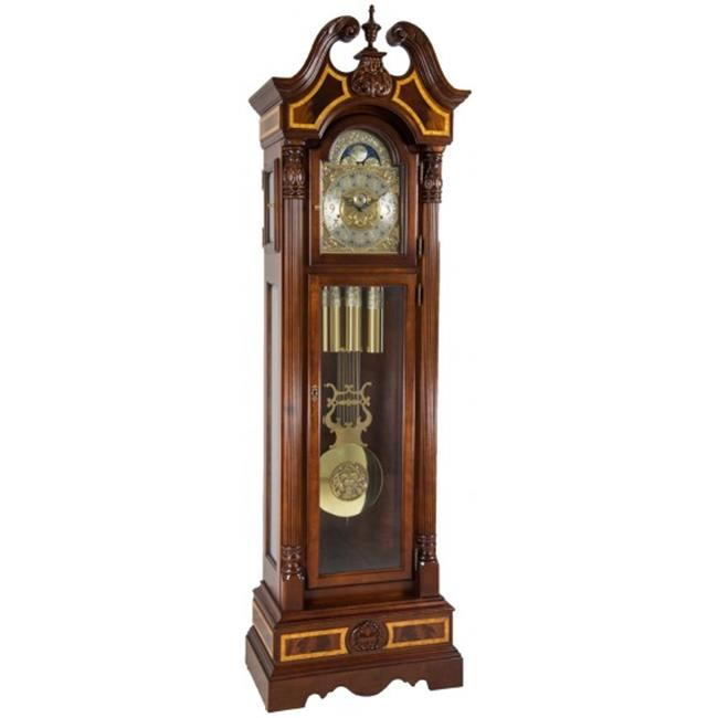 Hermle 010905N91171 Foreman Grandfather Clock Cherry by Hermle
