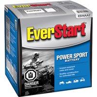 EverStart Lead Acid PowerSport Battery, Group Size ES-14AA2