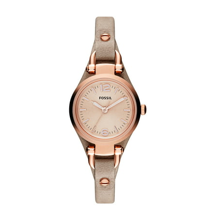 Fossil Women's Georgia Mini Watch Quartz Mineral Crystal (Best Fossil Watches For Women)