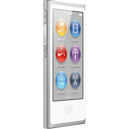 Apple iPod Nano 8th Generation 16GB Silver, Brand New in Retail Packaging with Power -