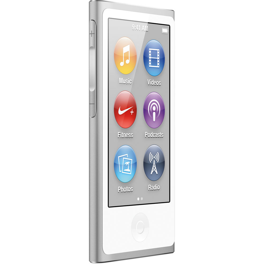 Apple iPod Nano 7th Generation 16GB Silver, Like New in Retail Packaging!