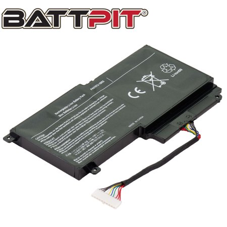 BattPit: Laptop Battery Replacement for Toshiba Satellite S55t-A5237, P000573230, PA5107U-1BRS, TB011207-PRR14G01 (14.4V 2838mAh 43Wh) ()