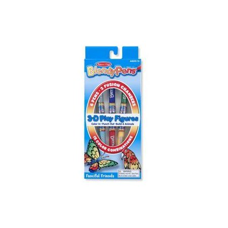 Blendy Pens 3-D Fanciful Friends (Pack of 24)