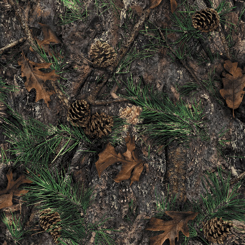 Springs Creative True Timber Camo 100% Cotton Fabric by the Yard, Mixed Pine
