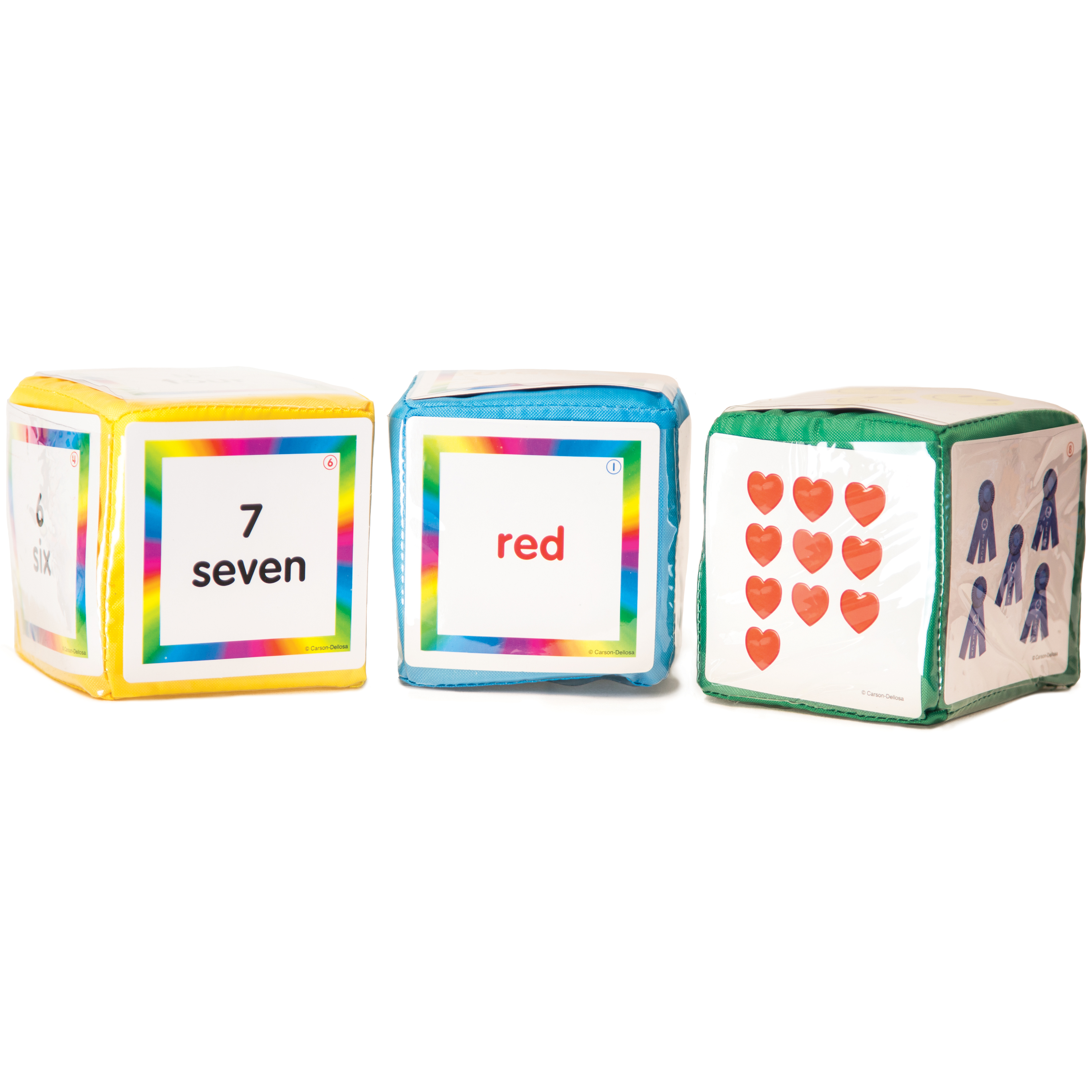 Carson Dellosa Differentiated Instruction Cubes 1 Manuals And