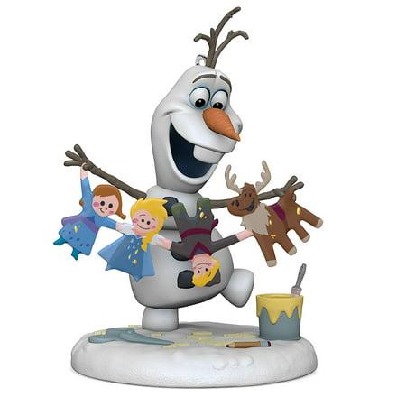 Hallmark Keepsake 2017 Disney Olaf's Frozen Adventure Christmas Ornament - Disney Storybook Ornaments