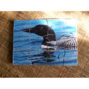 Fine Crafts 246ANI Wooden Loon jigsaw puzzle