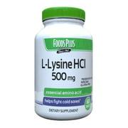 Windmill Vitamins Food Plus L Lysine Hci 500 mg Tablets, 60 Ea