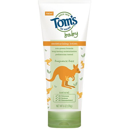 Tom's of Maine Baby Lotion, Fragrance Free, 6 oz
