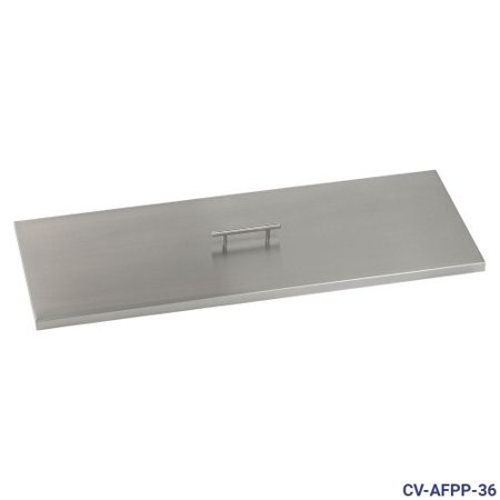 Stainless Steel Cover For 36 Quot X 12 Quot Rectangular Drop In