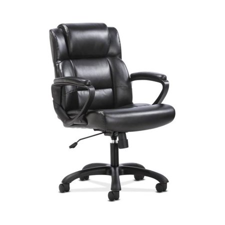 Sadie Leather Executive Computer/Office Chair with Arms - Ergonomic Swivel Chair