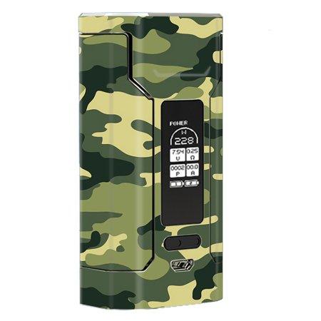 Skin Decal For Wismec Predator 228 Vape Mod / Green Camo Original Camouflage