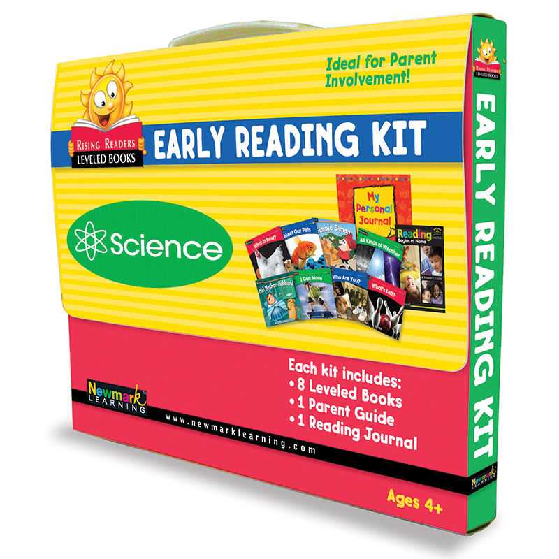 Newmark Learning NL-0955 Science Rising Readers Parent Involvement Kit