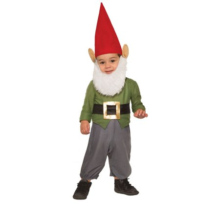 Baby Garden Gnome Halloween Costume](Baby Makeup For Halloween Costume)