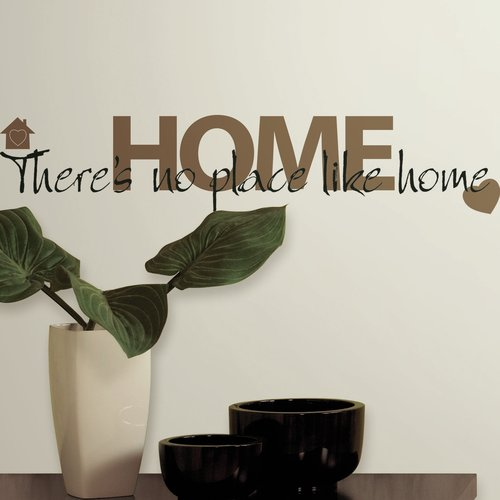 Wallhogs There's No Place Like Home Quote Wall Decal