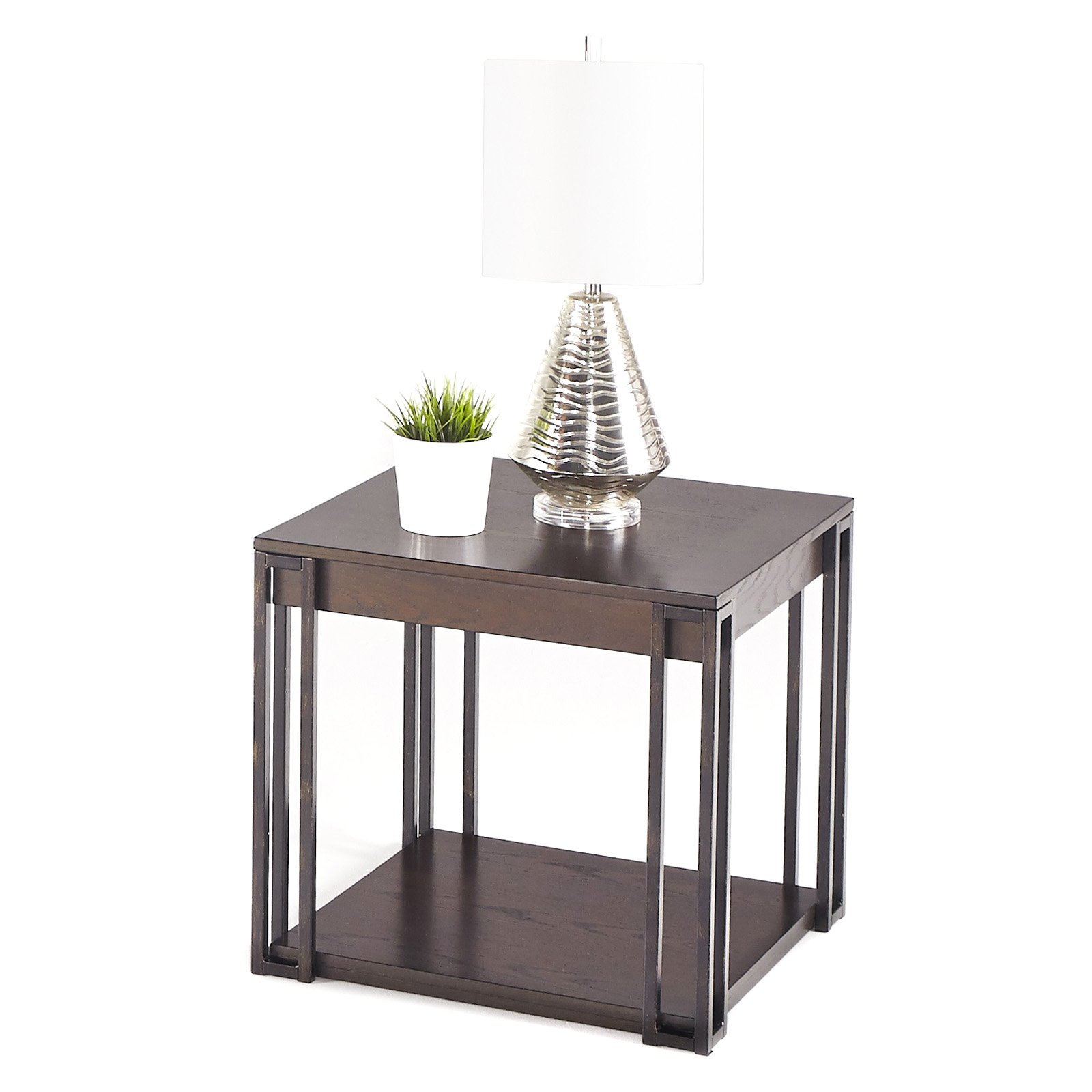 Progressive Citation Square Lamp Table by Progressive Furniture