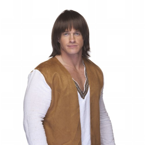 Characters Sonny Boy Synthetic Wig - Brown
